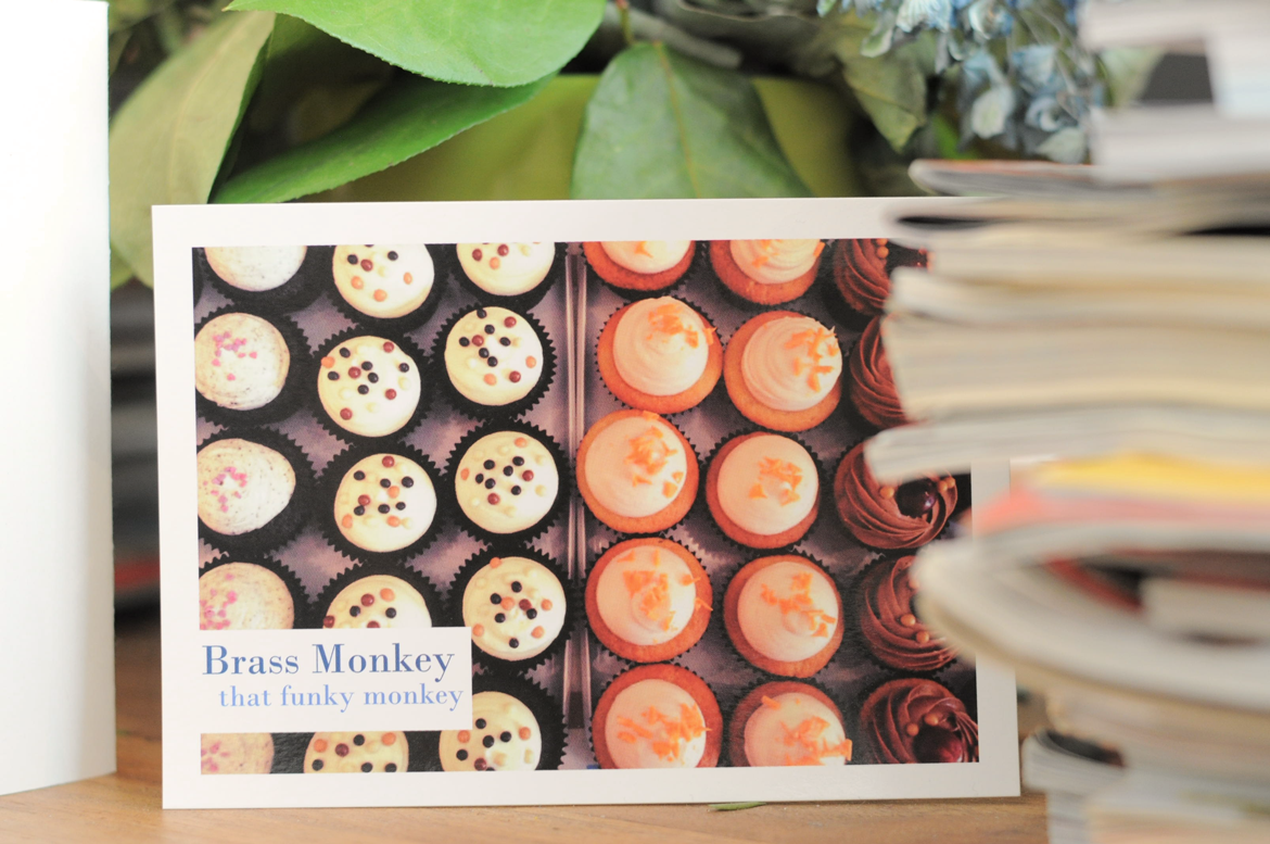 Brass Monkey: A Greek Cupcake Story | Naomella