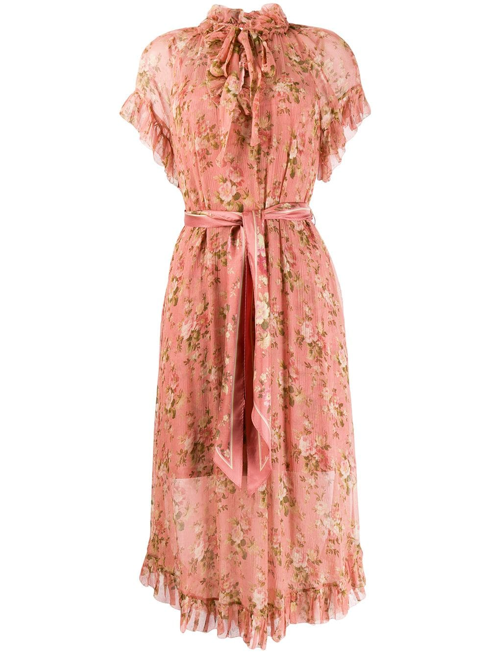 Floral Dress by Zimmermann